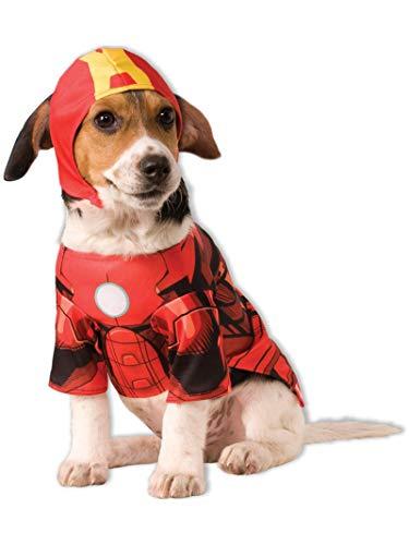 Rubies Officielle Iron Man Pet Costume pour Chien – Taille M