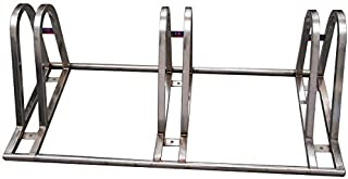 CyclingDeal BICYCLE BIKE FLOOR STAINLESS STEEL STANDS RACKS