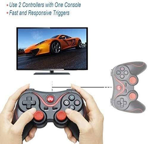 Yppss Mobile Controller, Wireless Joystick Gamepad Game Controller Bluetooth BT3.0 Joystick für Handy Tablet TV Box Halter Ewige