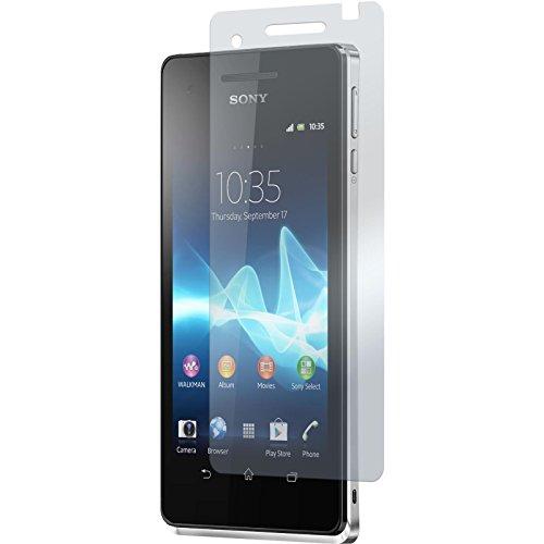 PhoneNatic 6 x Pellicola Protettiva Antiriflesso Compatibile con Sony Xperia V Pellicole Protettive