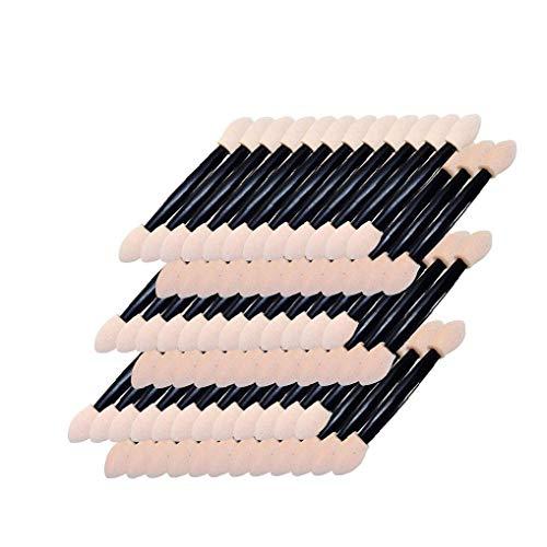 150 PCS à usage unique Ombre à paupières Brosses double face éponge applicateurs pinceaux de maquillage Outils de produits de beauté soins