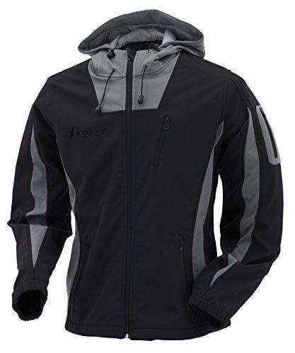 FROGG TOGGS Willow Creek Softshell Fleece Jacket, Women's, Black/Gray, Size XXLarge