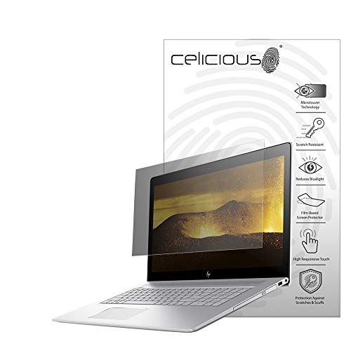 Great Deal! Celicious Privacy 2-Way Anti-Spy Filter Screen Protector Film Compatible with HP Envy 17...