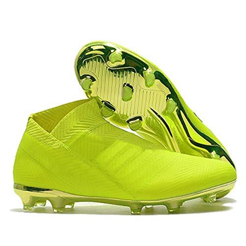 Scarpe da Calcio da Uomo Tacchetti da Allenamento Caviglia Alta Scarpe da Calcio Sportive a Punta Lunga 9