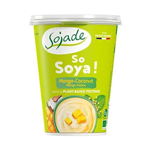 Sojade Yogurt Soja Mango Coco 400G Bio Sojade 1 Unidad 400 g