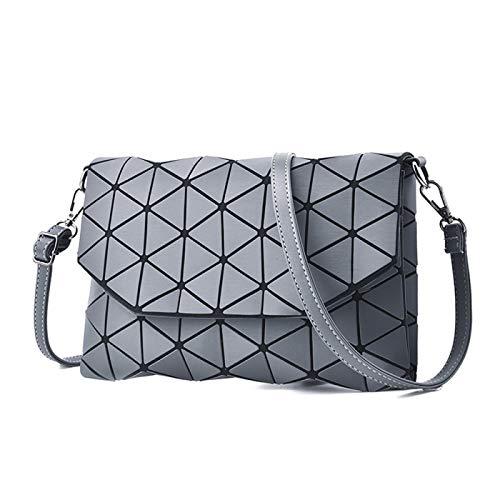 Anno Bolso femenino tendencia creativa sobre bolsa de hebilla magnética de un hombro diamante diagonal bolsa de compras