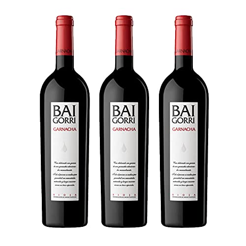 Vino Tinto Baigorri Garnacha de 75 cl - D.O. La Rioja - Bodegas Baigorri (Pack de 3 botellas)