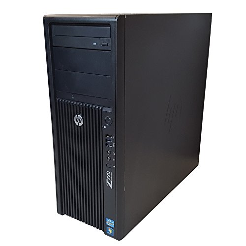 HP Z220 Desktop Workstation Tower - Intel Core i7 up to 3.9GHz, 16GB RAM, 1TB HDD, Windows 10 Pro (Renewed)