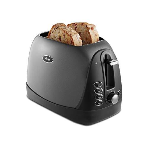 Oster 2-Slice Toaster, Metallic Grey (TSSTTRJBG1)