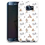 DeinDesign Coque en Silicone Compatible avec Samsung Galaxy S6 Edge Étui Silicone Coque Souple...