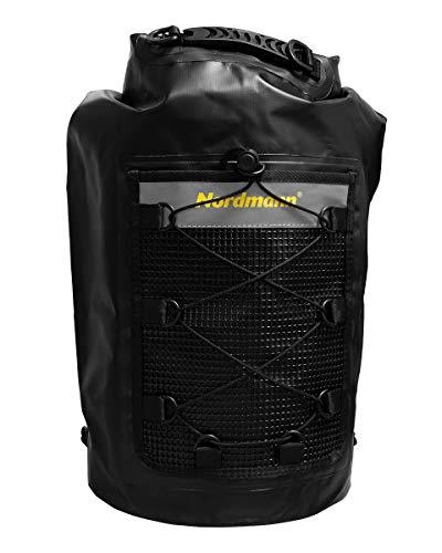 Nordmann® Dry Bag 30 Liter, wasserdicht/Seesack/Perfekt für Kajak- und Kanufahrten, wasserwandern, Paddeln, Segeln, Bootfahren, Camping/Schützt Wertsachen und Kleidung vor Nässe und Schmutz