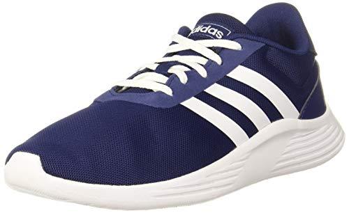 adidas LITE Racer 2.0 K Running Shoe, Dark Blue FTWR White Core Black, 6 UK