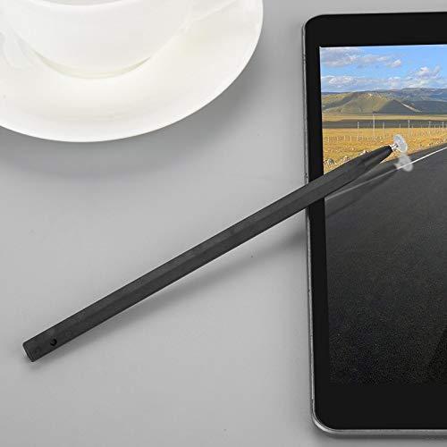 Socobeta Lápiz óptico portátil de precisión con Pantalla capacitiva de Buena sensación de Mano Negra para teléfono móvil, Tableta