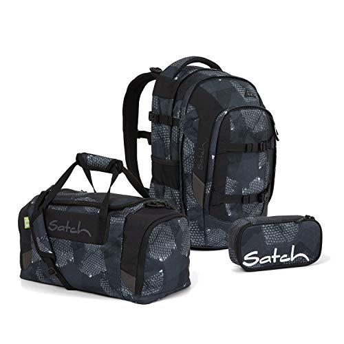 Satch Pack BTS2020 Schulrucksack Set 3tlg. (Rucksack+Etui+Sporttasche) (Infra Grey)