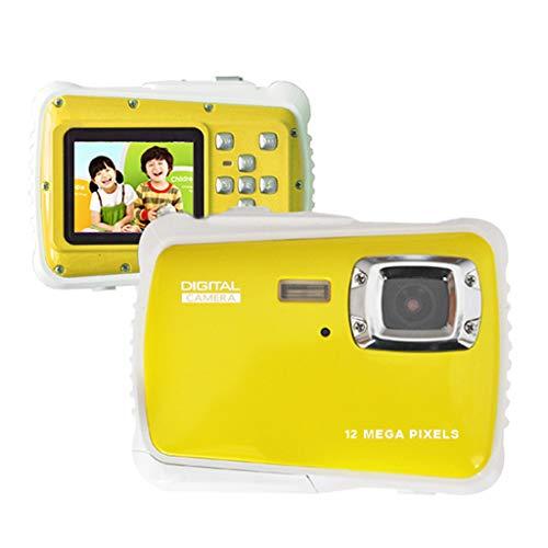 JCOCO Kids Action Camera - 2 Inch TFT LCD 12MP HD Digital DV - Waterproof Motion Cam - 4X Smart Zoom - Best