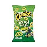 Patatine di cipolla di Cheetos | Cheetos | Cipolla di Ringlings e patatine fritte fini | Peso totale 125 grammi