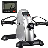 HomGarden Pedal Exerciser Bike Pedals w/LED Screen Display for Legs and Arms Exerciser,Portable Mini Cycle Bike...