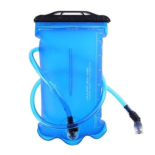 La Bolsa De 2 litros De Agua Plegable TPU Deporte Al Aire Libre Correr Montar Escalada Titular Camping Hidratación Vejiga Plegable Que Acampa Agua LQHWSD (Color : 2L)