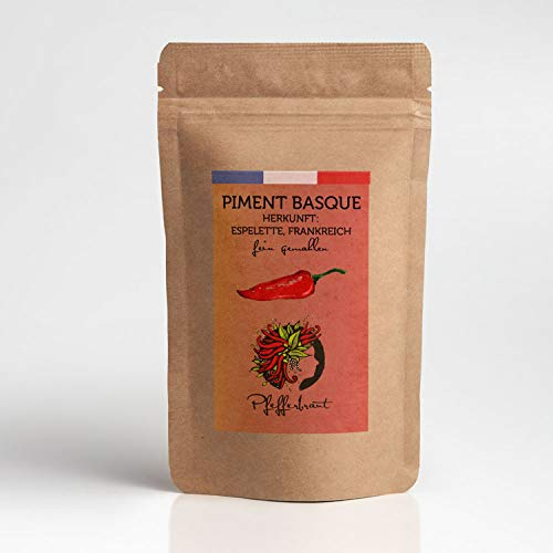 Piment Basque - fein gemahlen, Chili aus Espelette (Baskenland) 2500 SCU 50g Gourmetgewürz