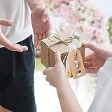 Gastgeschenke Taufe, 20 Stück Souvenir Gastgeschenke Hochzeit Schutzengel +Organza Beutel Hochzeit Taufe Anhänger Weihnachten Kommunion Konfirmation Geschenk für Gast (white) - 5