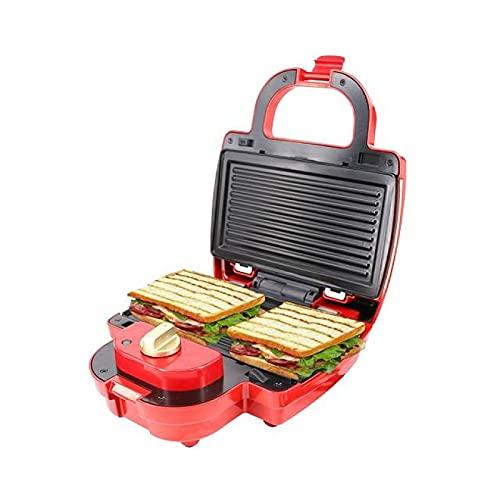 Grill Sandwich Maker , 750w 3 In 1 Multi-function Detachable Sandwich Maker , Mini Panini...