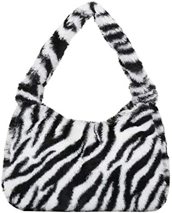 Ladies Fashion Autumn and Winter Leisure All Match Plush Underarm Bag Clutch Bag Fur Handbag product image