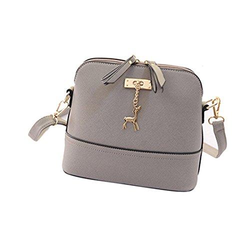 Generic Women Vintage PU Leather Shoulder Bags Shell Model Handbag...