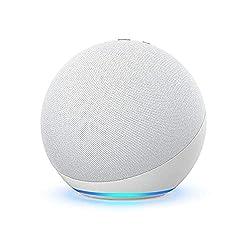 cheap Brand New Echo (4th Generation) | Premium Sound, Smart Home Hub, Alexa | Glacier White
