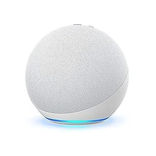 Echo (4th Gen) | With premium sound, smart home hub, and Alexa | Glacier White (B07XKF75B8) | Amazon price tracker / tracking, Amazon price history charts, Amazon price watches, Amazon price drop alerts