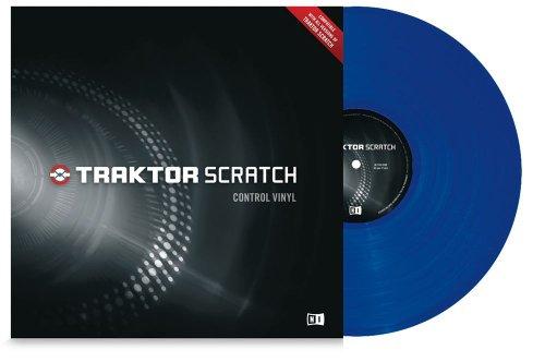 Traktor Control Vinyl MKII Blue