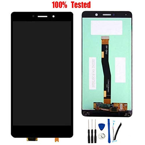 SOMEFUN LCD Screen Replacement for Huawei Honor 6X BLN-L24 BLN-L21 BLN-L22/ GR5 2017 5.5' Display Touch Screen Digitizer Glass Panel Assembly [Black no Frame]
