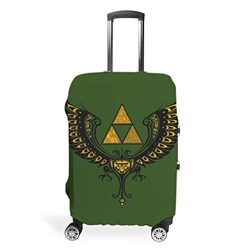 Luggage Cover Zelda Washable Suitcase Protector No Dirty Fit Easily Four Sizes to Choose Anti-Scratch Suitcase Cover Fits 18-32inch Perfect Gift for Friends White 22-24in