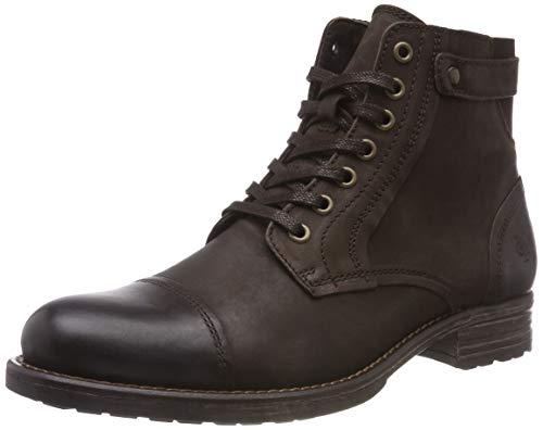 Marc O'Polo Herren Lace Up Bootie Klassische Stiefel, Braun (Dark Brown 790), 41 EU