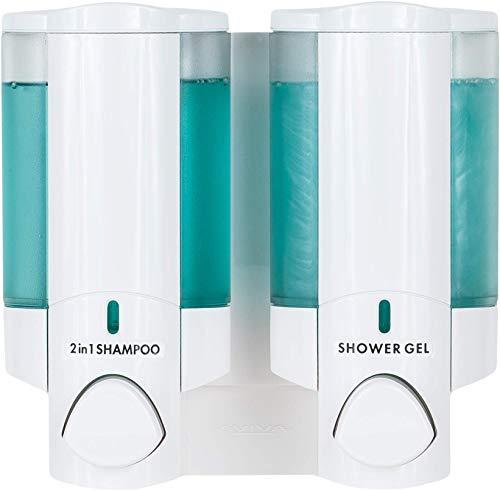 BETEC 36250 Seifenspender und Hygienespender Aviva II weiß - Wandmontage -abschließbar auch für Hotels
