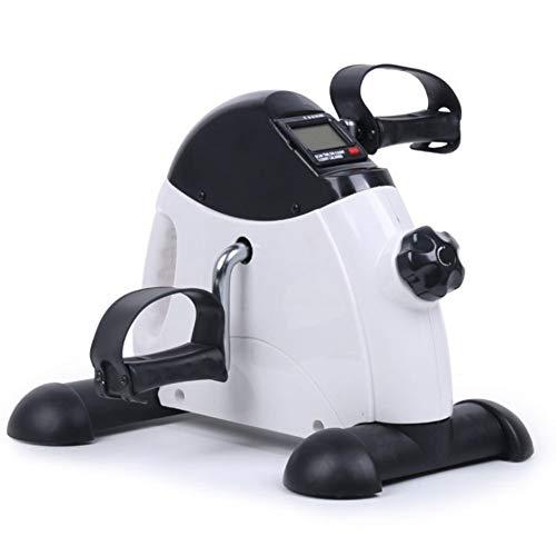 Hometrainer Draagbare minifiets Pedaaltrainer Stationaire oefenbeenbeenventer met antislipmat Geschikt, LCD-beeldschermen