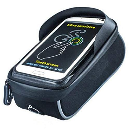 YIJIAHUI Fiets Frame Tas Fiets Tas Frame Fietstas Met Waterdichte Touch Screen Fiets Stuur Voorzijde Mobiele Telefoon Beugel Voor Mobiele Telefoons Onder 6 Inch