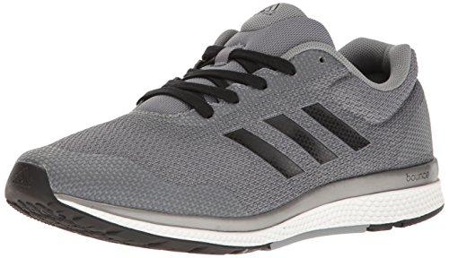 adidas Performance Men's Mana Bounce 2 m Aramis Running Shoe, Grey/Black/Neo Iron, 7.5 M US