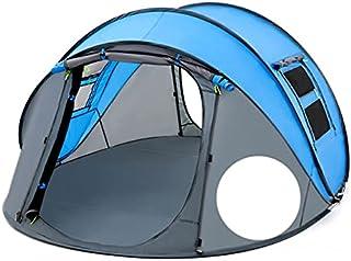 Kasta pop-up tält 4-6 personer utomhus automatiska tält dubbla lager stort familjetält vattentät camping vandringstält