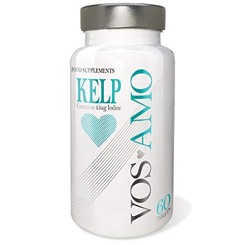 Vos Amo Kelp - With Sea Kelp Seaweed Supplement Rich in Iodine - 1000mg per Serving - Vegetarian & Vegan Friendly