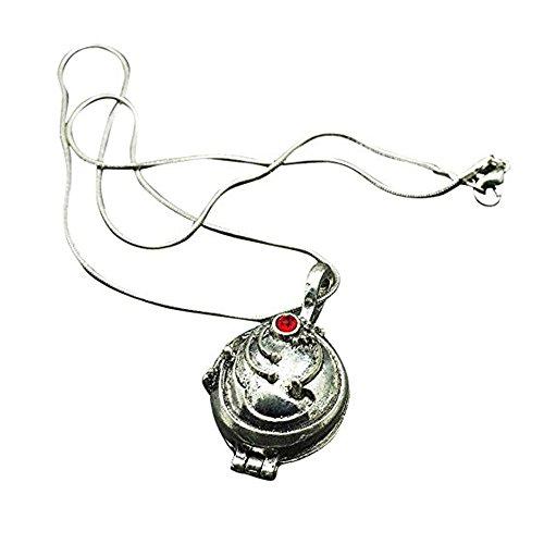 TrifyCore The Vampire Diaries Halskette Medaillon Silber- und Bronze Antik 2.4* 2.8cm (Bronze)...