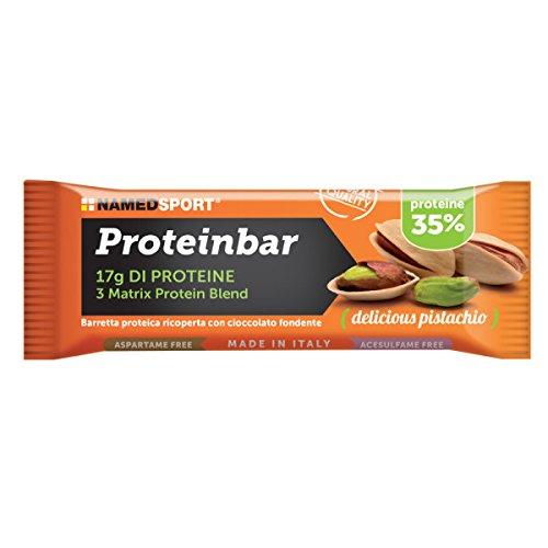 Namedsport Proteinbar, 12 barrette, gusto pistacchio