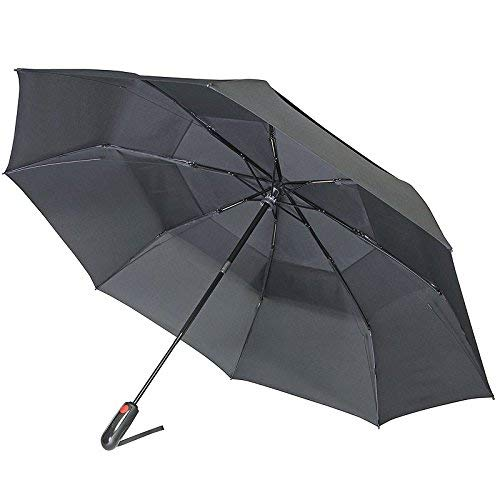 Knirps 889-100 Xtreme Vented Duomatic Umbrella, One Size (Black)