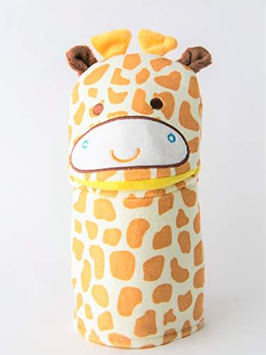 Ginny The Giraffe Wash Cloth - Animal Shape Cotton Mitt - Zoo Glove - Puppet - Wash Cloth - Children Bath Brush - Bath Glove - Bath Towel Gloves - Cute Glove - Popular Play Wash Cloth
