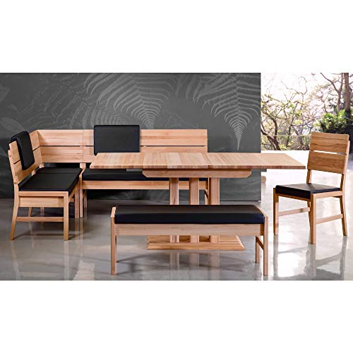 Amazon Marke –Alkove – Hayes – Massivholzeckbank mit gepolsterter Sitzfläche, Kernbuche - 2