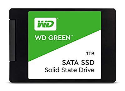 WD Green 1TB Internal PC SSD - SATA III 6 Gb/s, 2.5 Inch /7mm - WDS100T2G0A by Western Digital