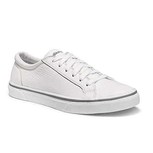 Eddie Bauer Women's Chatam Leather Sneaker White