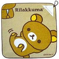 【リラックマ】ループ付きタオル(リラックマ/ごろん)★リラックマ・リラックマ★