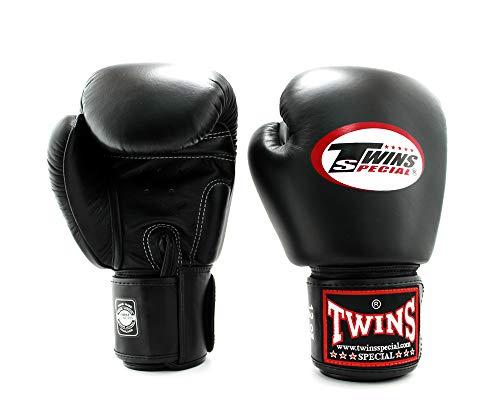 complet dans les spécifications Nouvelles Arrivées qualité incroyable Gants de boxe Twins Noir