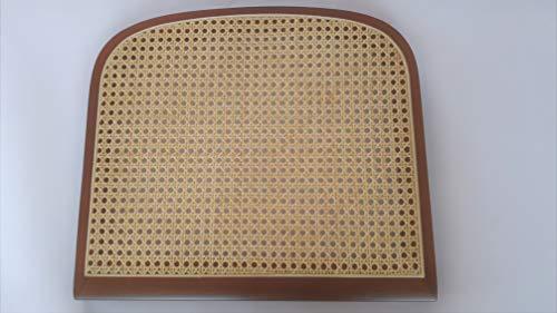 Generico Juego de 4 asientos de repuesto para sillas Breuer, nogal y paja de Viena