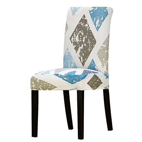 Chair cover Stuhlabdeckung Stretch Abnehmbare Waschbare Stuhlabdeckungen Protector Seat Slipcover für Esszimmer Hotel Bankett Home Weihnachten Casual ( Color : K024 , Specification : Universal Size )